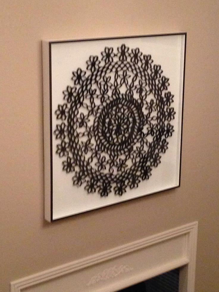 Resultado de imagem para Toilet Paper Roll Art Patterns Letters ...