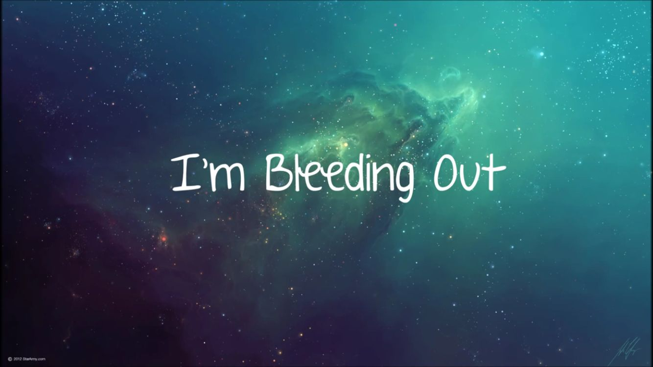 Bleeding out by imagine dragons  Love this song