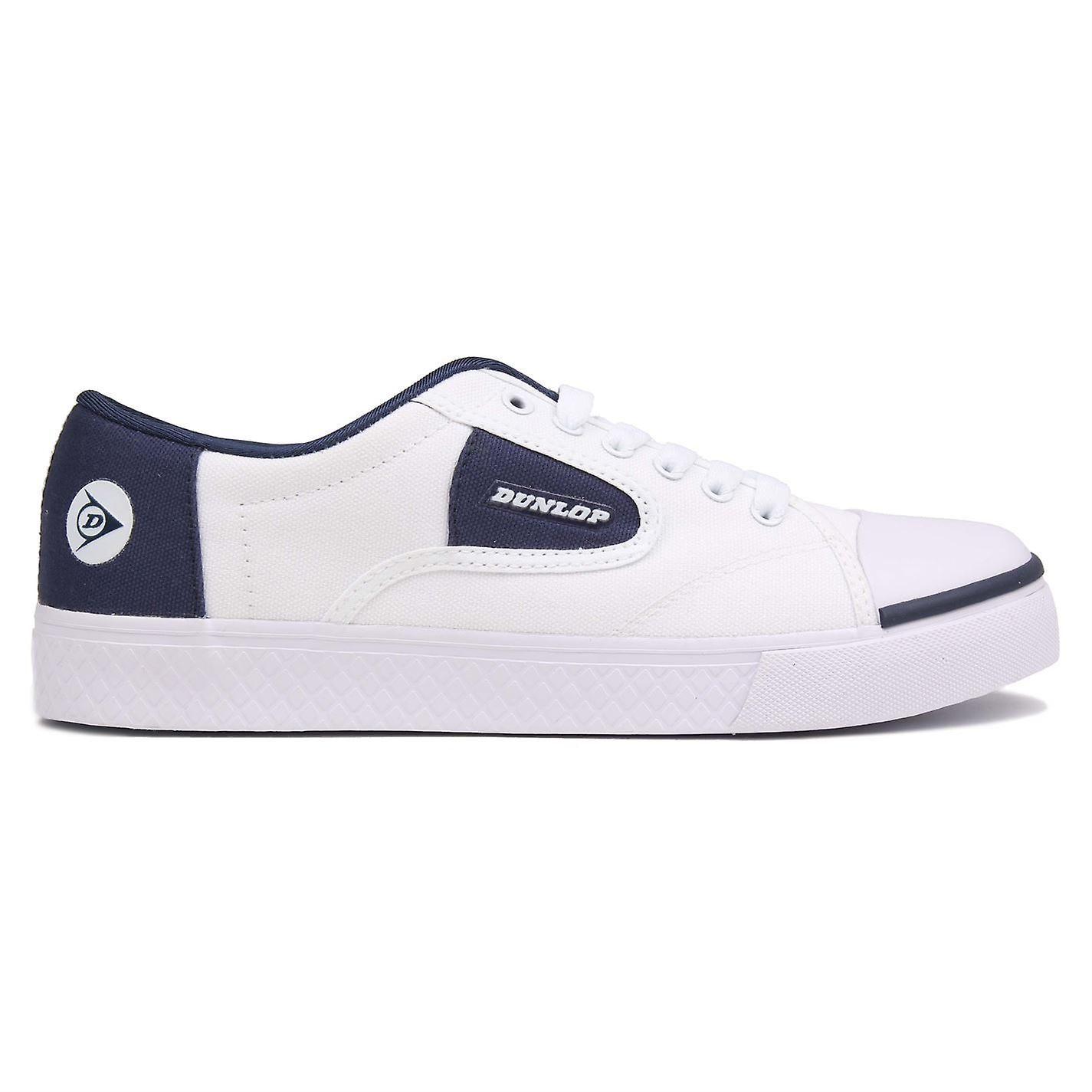 Dunlop Mens Green Flash Canvas Lo Shoes Trainers Footwear
