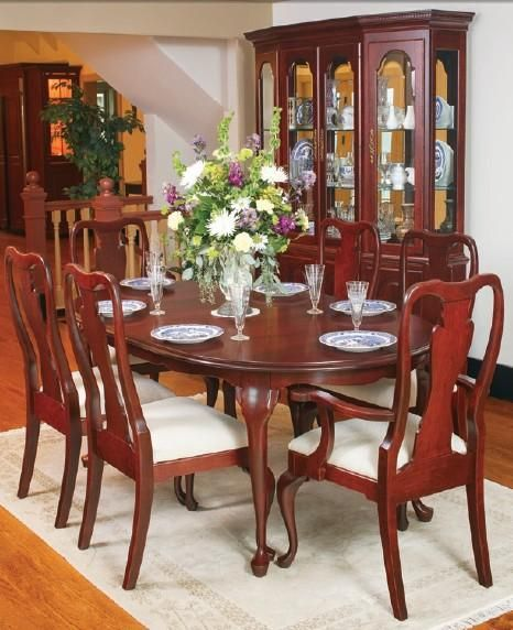 Amish Lincoln City Dining Chair Wood Dining Room Dining Room Table Farmhouse Dining Rooms Decor