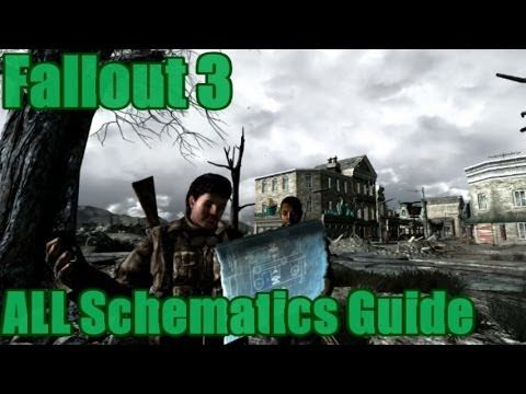 Fallout 3: All Schematics Guide (Vanilla) - YouTube ... on
