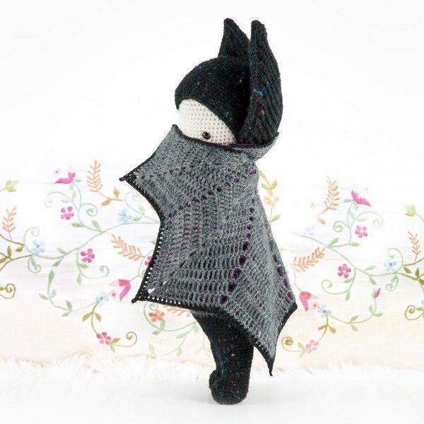 #Crochet bat doll pattern for sale at lalylala
