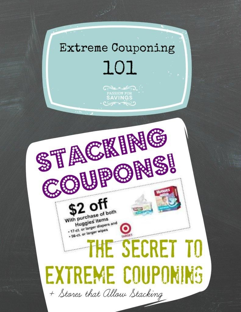 Stacking Printable Store Coupons With Manufacturer Coupons Manufacturer Coupons Extreme Couponing Coupons