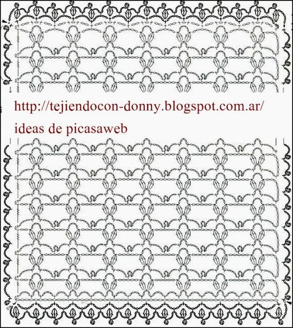 TEJIDOS A CROCHET - GANCHILLO - PATRONES | ganchillo | Pinterest ...