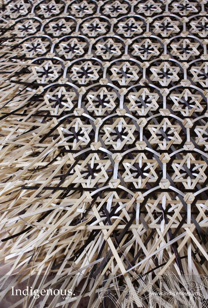 bamboo weaving vietnam patterns and craft