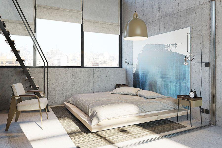 Camera Da Letto Con Soppalco : Arredare loft con soppalco idee e progetti dal design