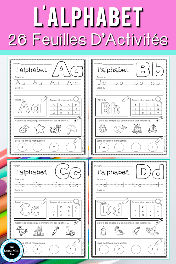 Are You Looking For French Alphabet Worksheets To Reinforce Letter Identification And Beginning Sounds French Alphabet Alphabet Worksheets French Worksheets [ 1100 x 735 Pixel ]