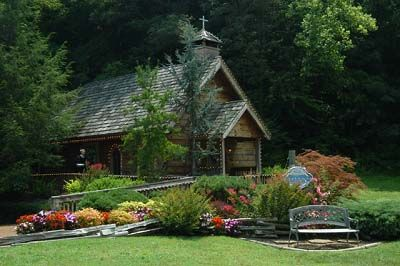 Small Chapels Little Log Chapel Get Me To The Chapel In