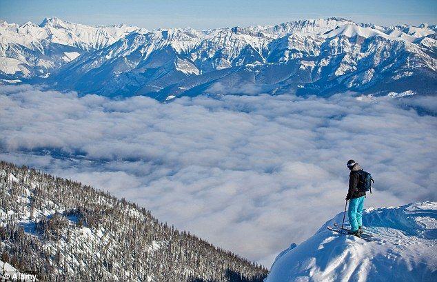 Kicking Horse Mountain Resort.