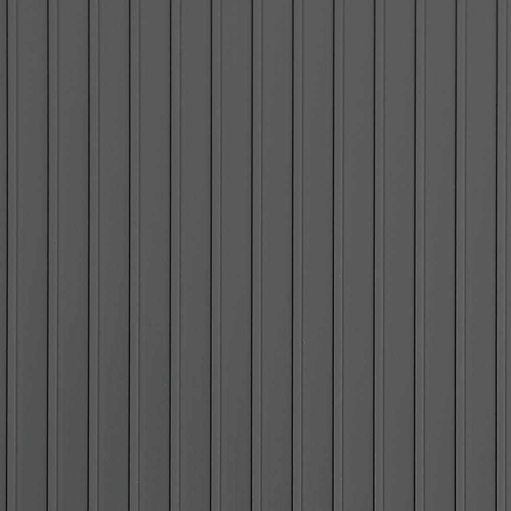 G Floor Rib 10 Ft X 24 Ft Slate Grey Vinyl Garage Flooring Cover And Protector Gf55rb1024sg The Home Depot In 2020 Vinyl Garage Flooring Garage Floor Flooring