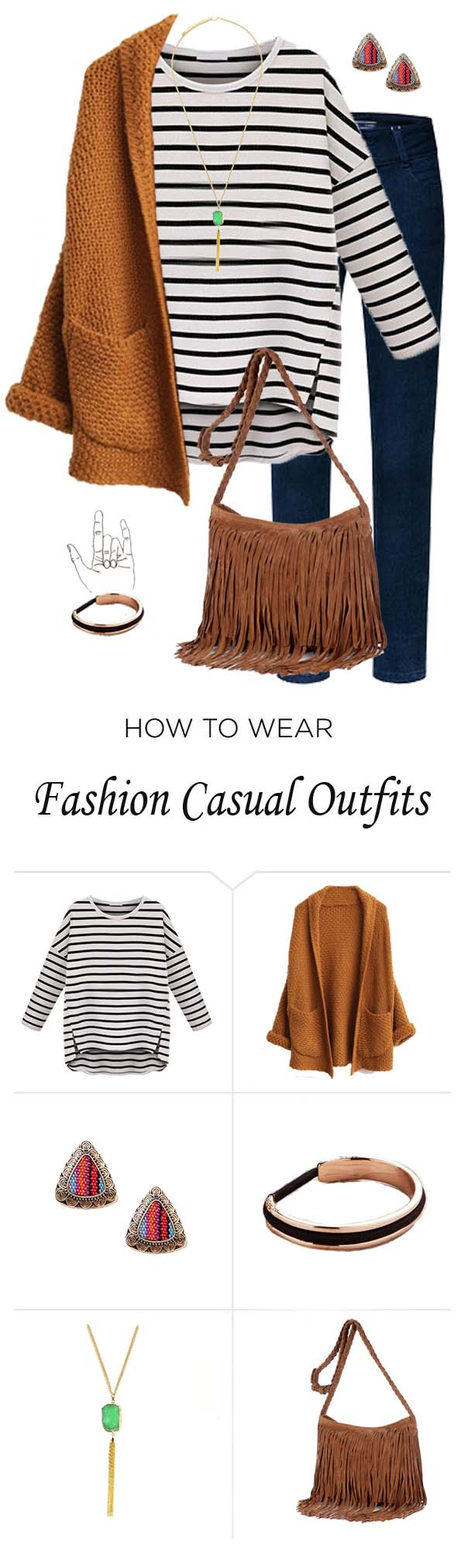 Outfit ideas with cardigans we have collected for every women to give you inspirations what and how to wear your cardigans.