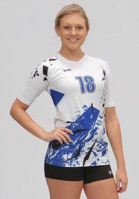 Shattered Half Sleeve Sublimated Jersey Camisetas De Futbol Femenino 5b5655500d273