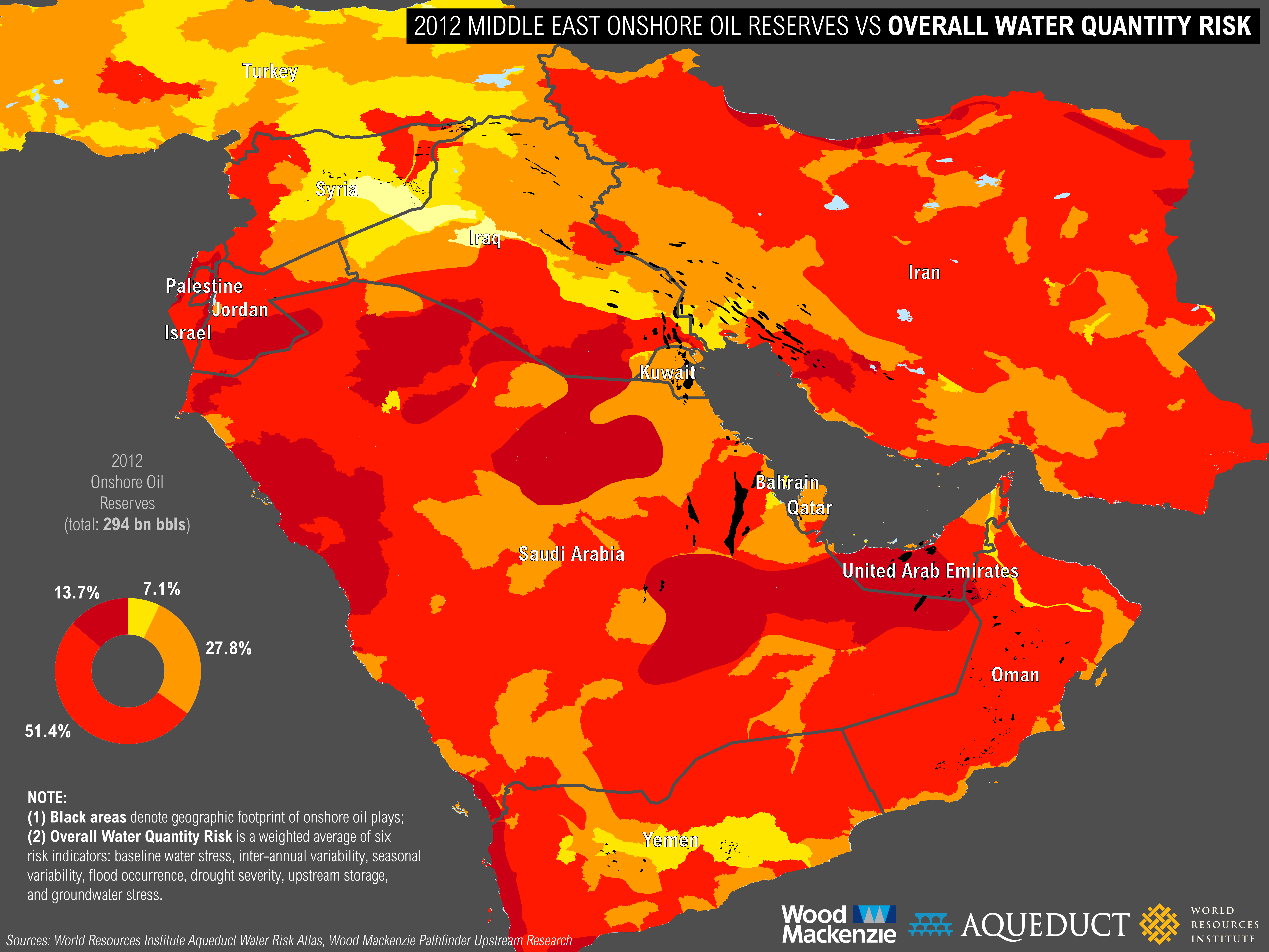 Water Risks on the Rise for Three Global Energy Production Hot