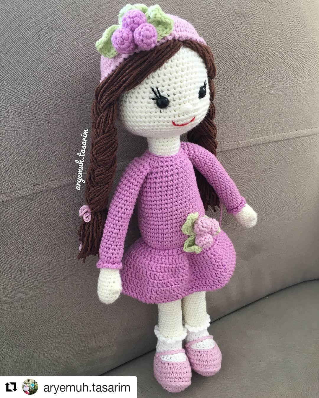 Free Crochet Amigurumi Doll Pattern Tutorials Baby Dolls Crochet