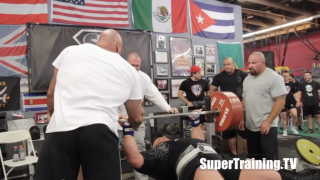 Powerlifter Scott Mendelson Bigger The Better Bench Press Powerlifting Weight Benches