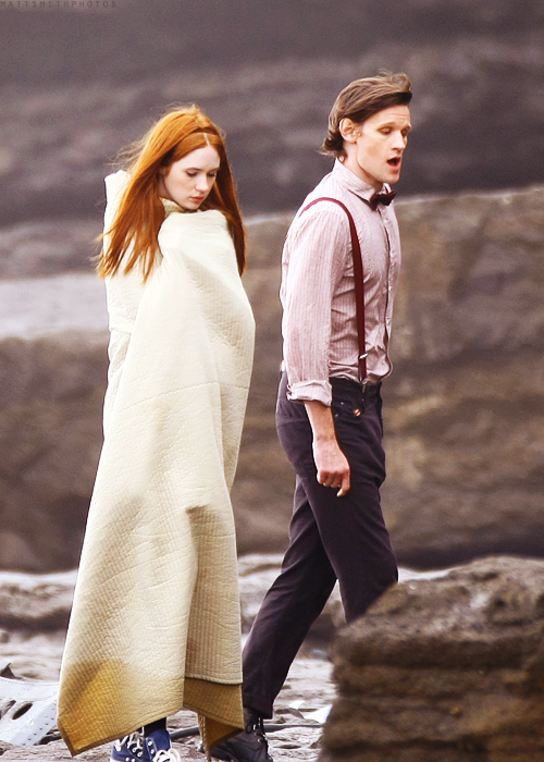 """Eleven + Amy Pond 