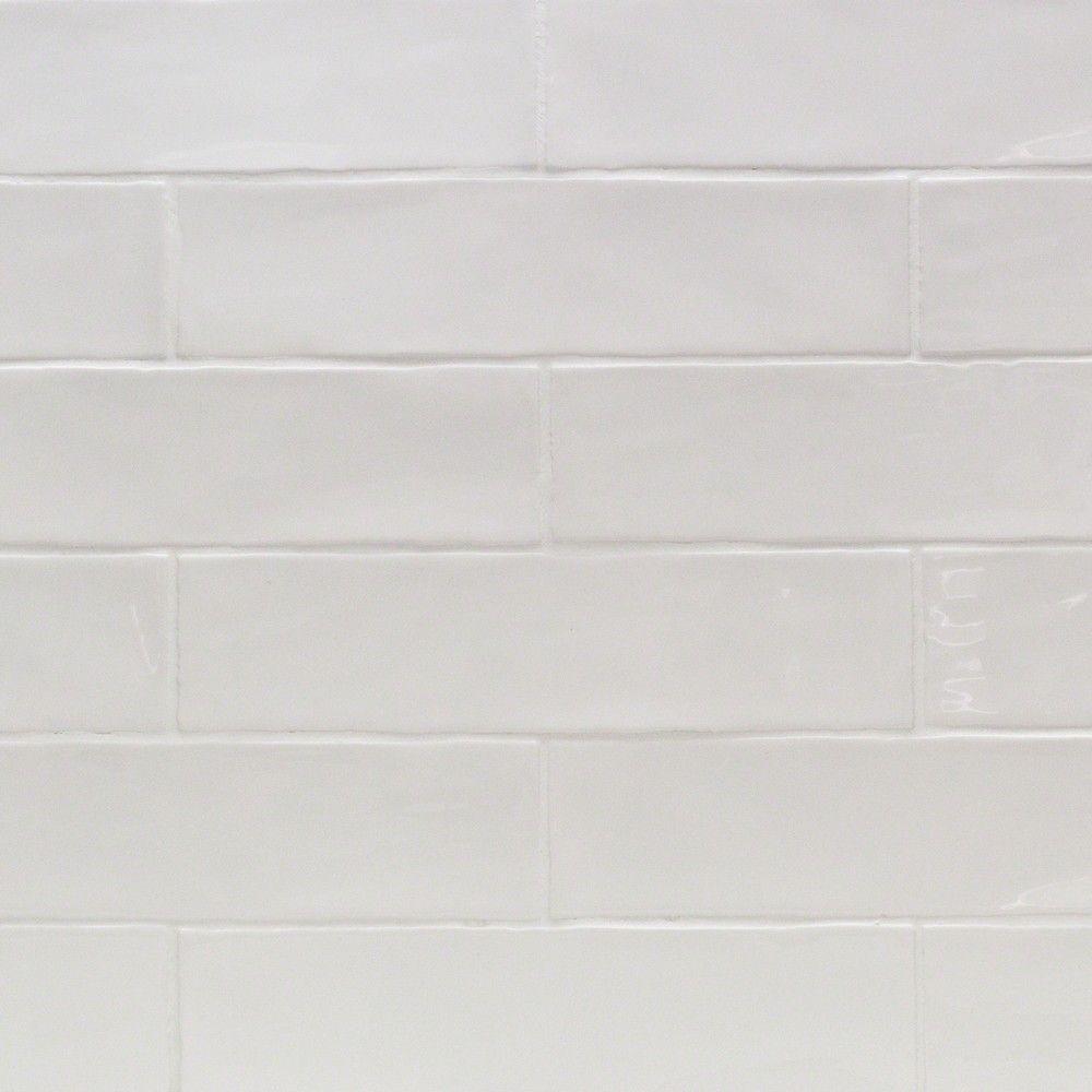 Lego Kitchen Backsplash: Shop For Lancaster 3x12 Bianco Ceramic Tile At TileBar.com