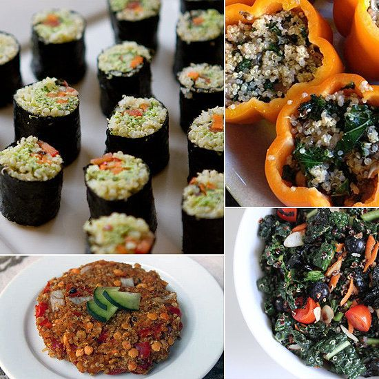 20 creative quinoa dishes you wont get sick of healthy quinoa food twenty healthy quinoa recipes for breakfast lunch and forumfinder Images