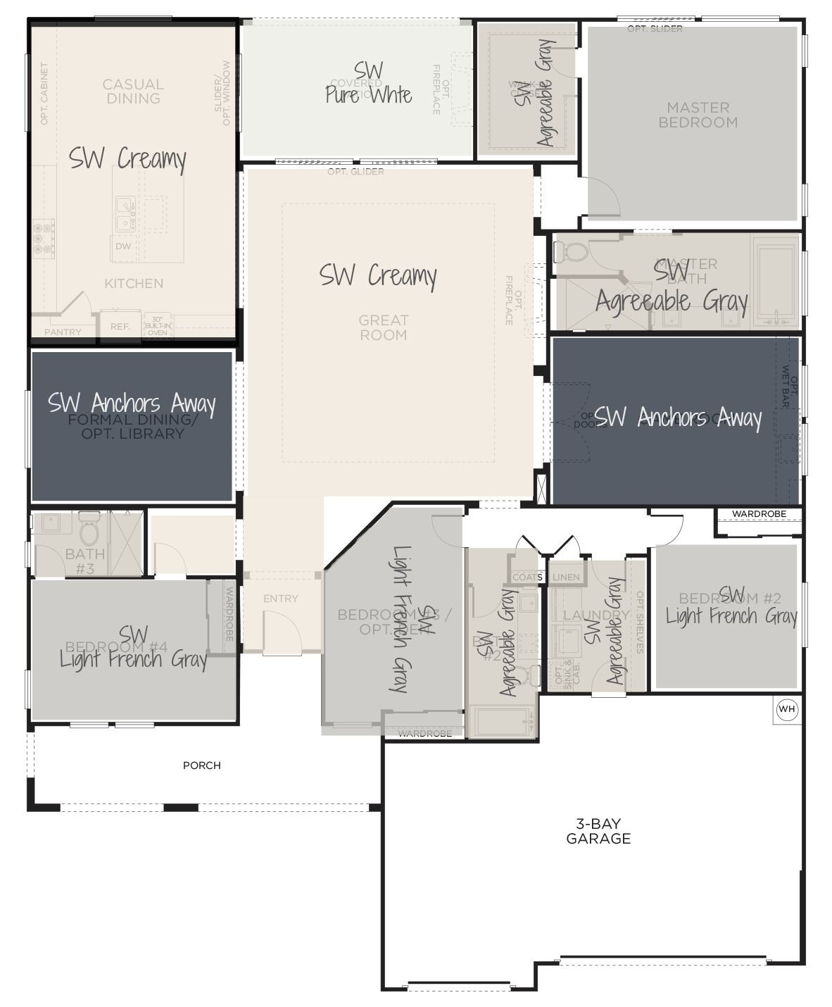 whole house color scheme house color schemes interior on house paint color combinations interior id=13178
