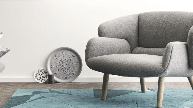 Fauteuil lounge design pour salon moderne