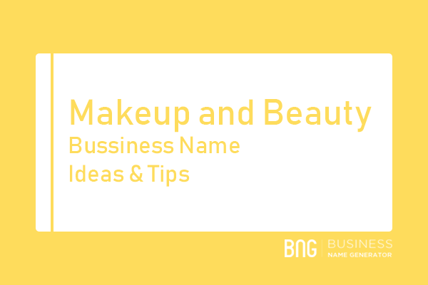 Makeup and Beauty Business Name Generator
