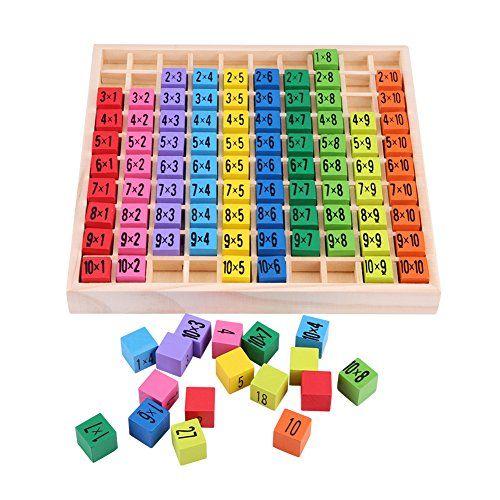 Zerodis X Multiplication 10 Table Calcul Jouets Educatifs De 7Ybfyv6g