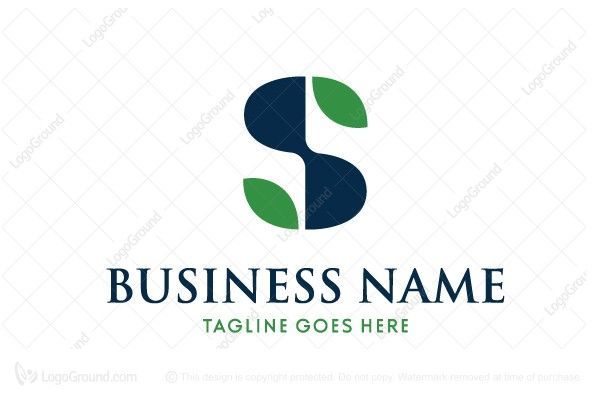 Exclusive Logo 31701, Letter S With Leaves Logo Kimia