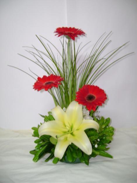 centros de mesa para bautizo de flores naturales centros de mesa
