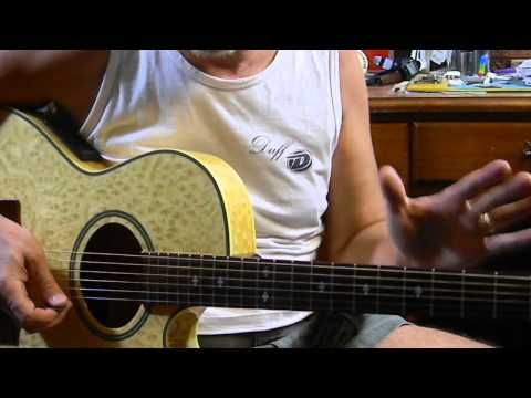 How To Play Blues Guitar Power Chords Easy E Blues Jam Acoustic