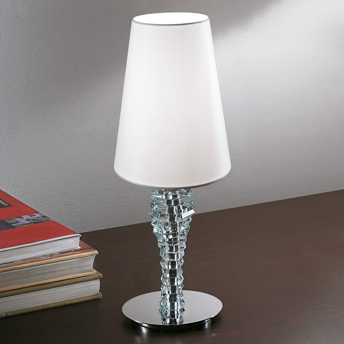 Moderne Leuchten Design Tischlampe Tischlampe Eckig Lampe Led Dimmbar Nachttischlampe Schirm Lampe Lampentisch Tischleuchte