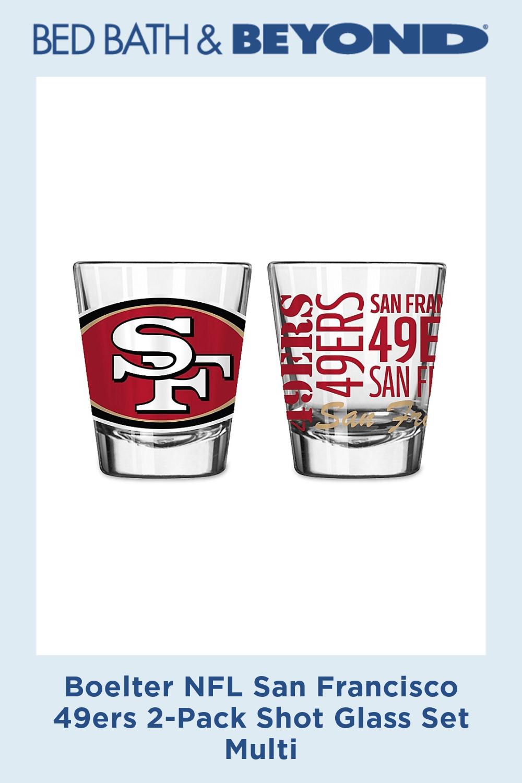 Pin By Jordan Robinson On San Francisco 49er S Shot Glass Set Glass Set San Francisco 49ers
