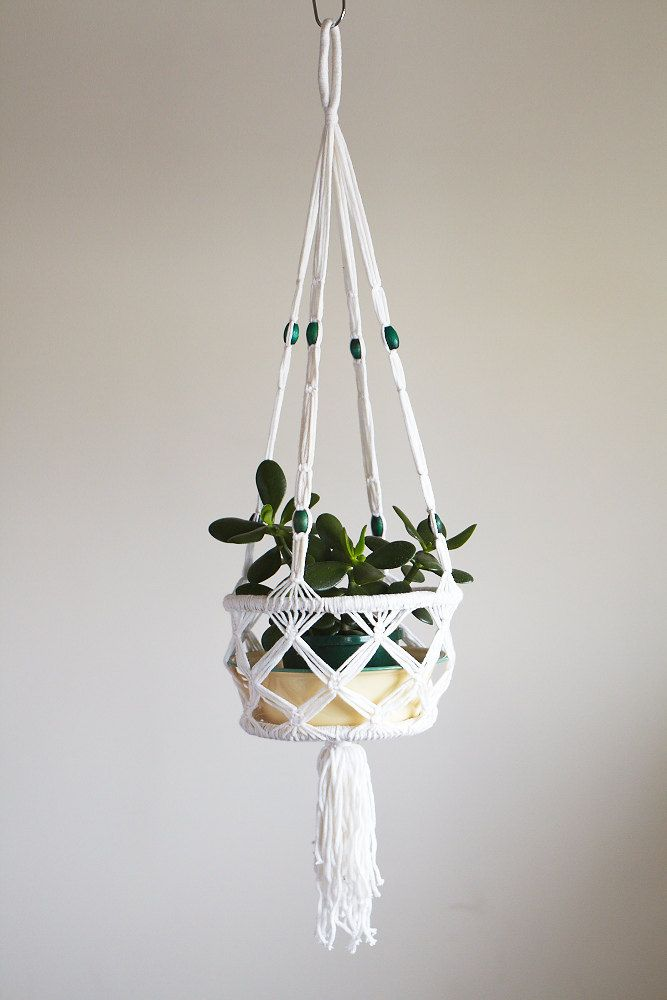 Du macram dans l 39 air macram suspension et plantes - Faire macrame suspension ...