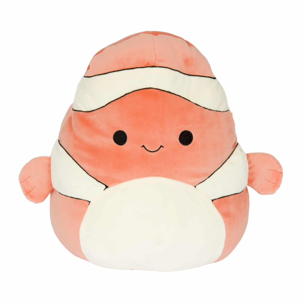Super Soft Plush Toys Squishmallows Animal Pillows Clown Fish Cute Stuffed Animals