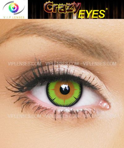 The all new and exclusive Maleficent contact lenses, tipped to be one of the biggest Halloween contacts this year