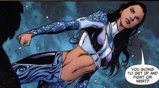 Lorena Marquez is Aquagirl