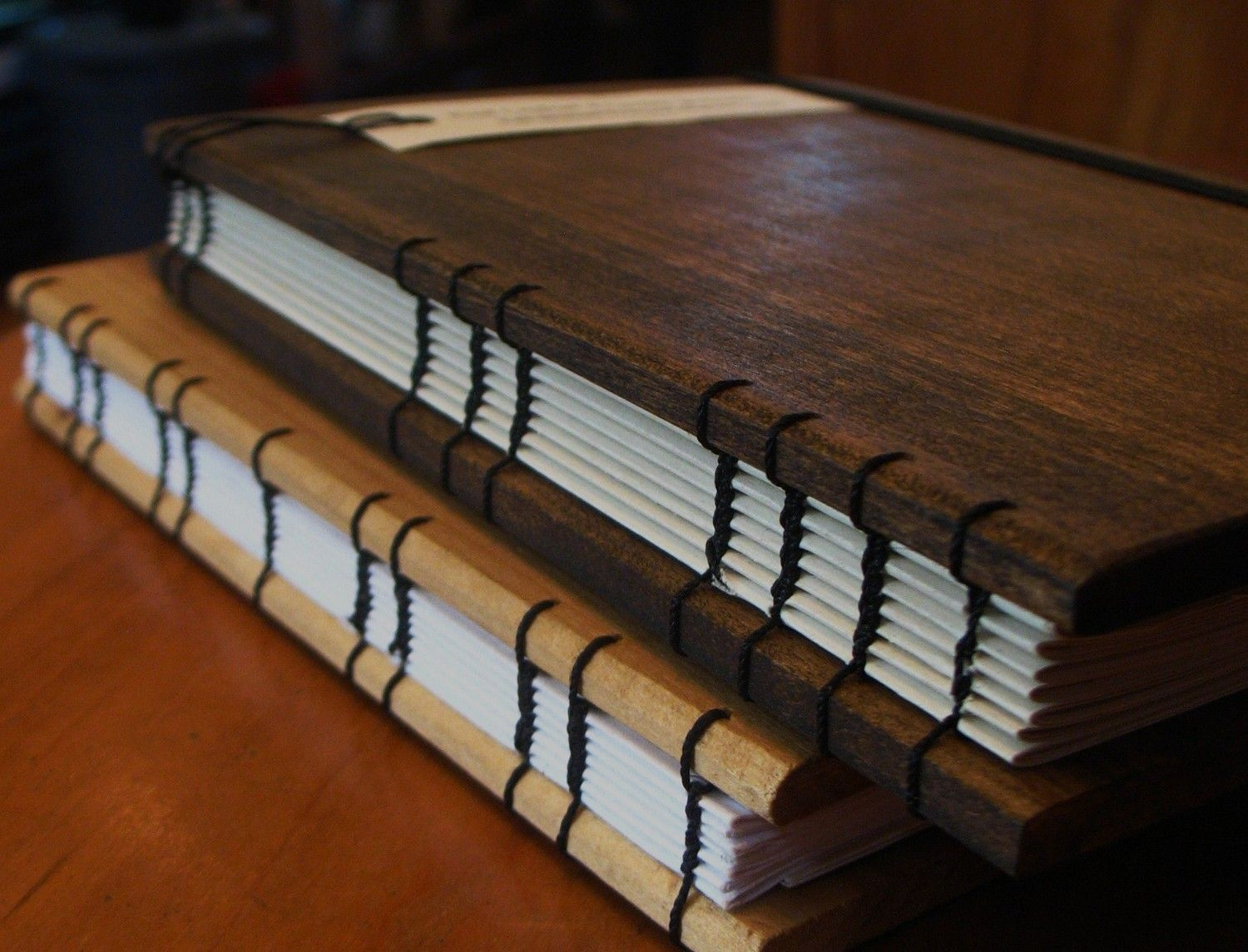 Wooden Book Cover Diy : Nice wooden book covers bookbinding pinterest