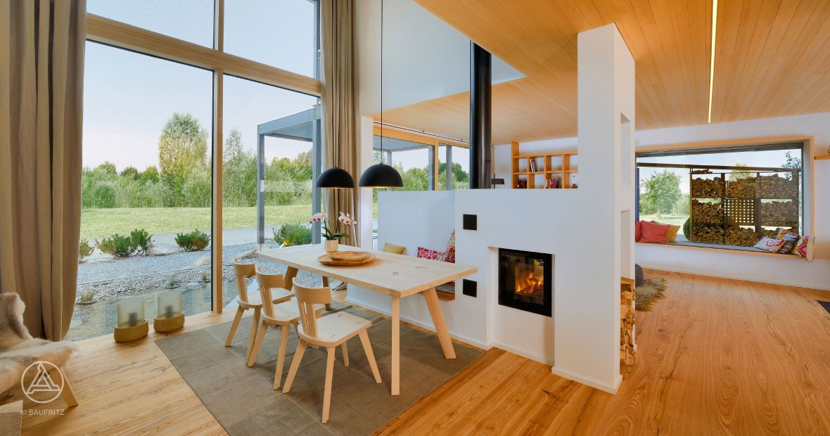 Schwedenhaus innenansicht  Designhaus-Innenansicht - Individuell geplante Design-Architektur ...