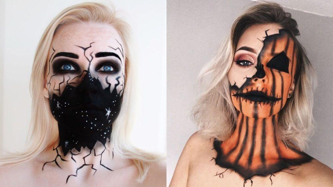 💄 best makeup halloween 2018 | 👻top 10 easy halloween makeup