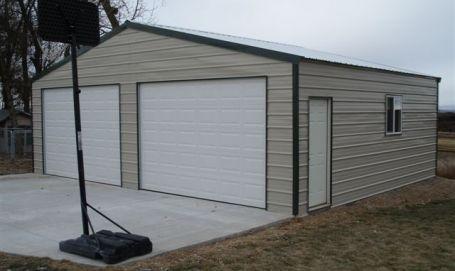 Frontier Steel Building Kit By Versatube Metal Buildings Garage Style Sheet Metal Roofing
