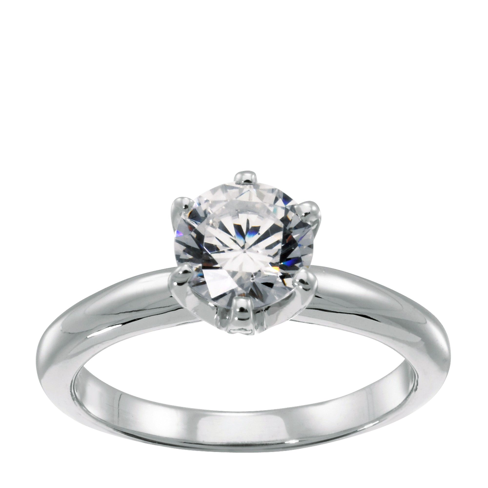 TiffanyStyle 6Prong Engagement Ring Affordable, Ethical