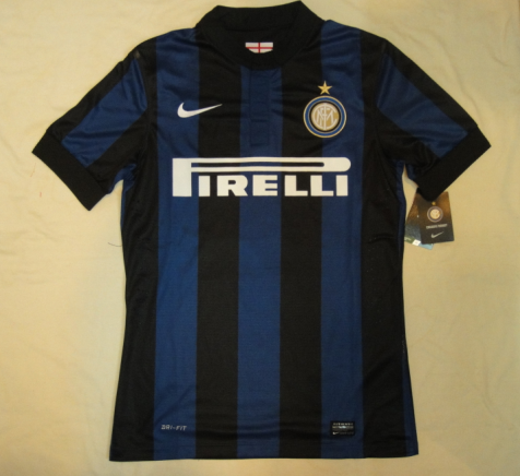 timeless design efef8 c718d 13/14 Inter Milan home football jersey Thailand quality and ...