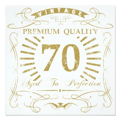 70th Birthday Gag Gift Card - birthday cards invitations party diy