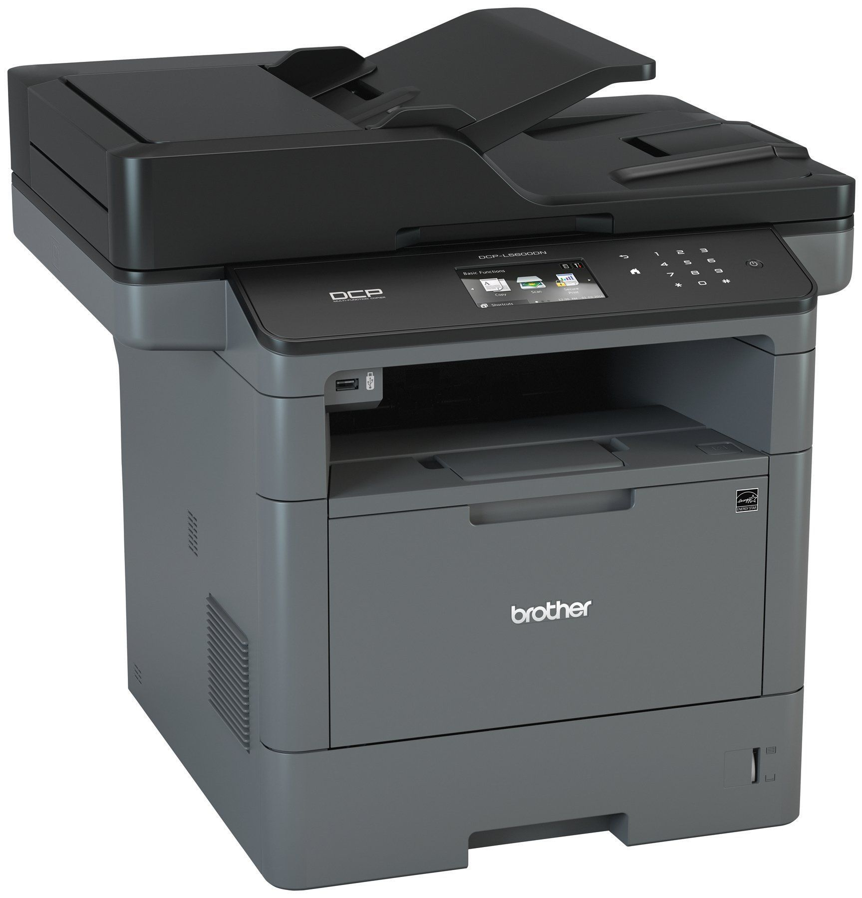 Brother monochrome laser printer multifunction printer and copier