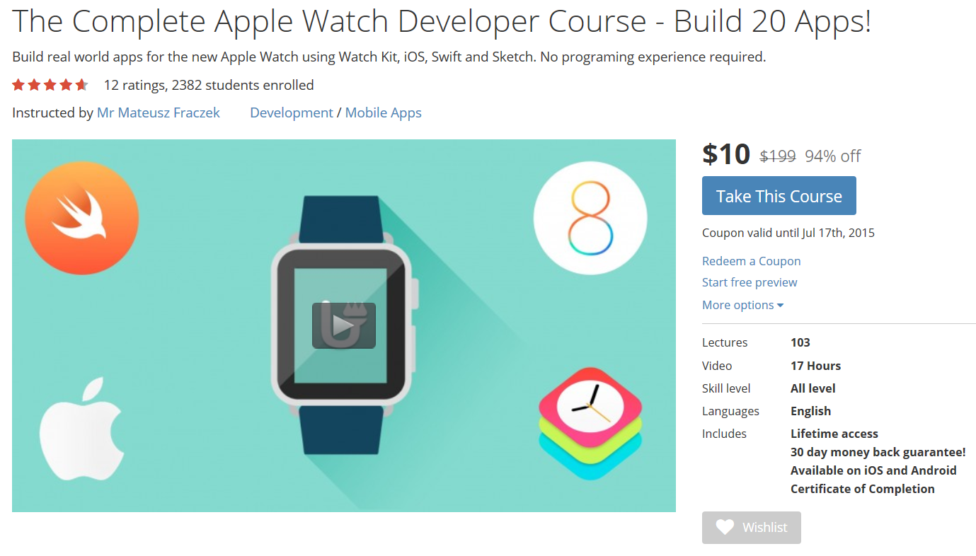 Coupon For Apple Watch