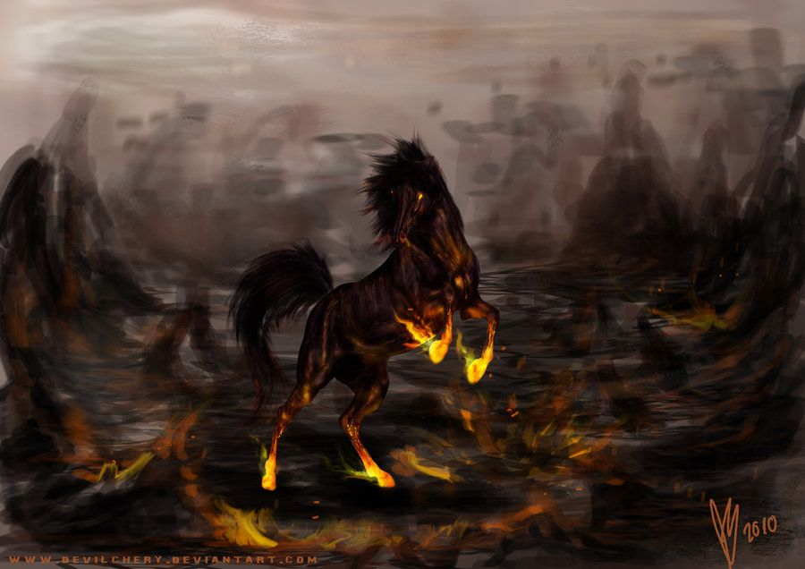 Dark Fire Digital Art by Rex Ferguson