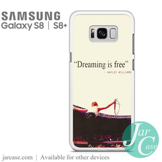 Paramore quotes Phone Case for Samsung Galaxy S8 & S8 Plus