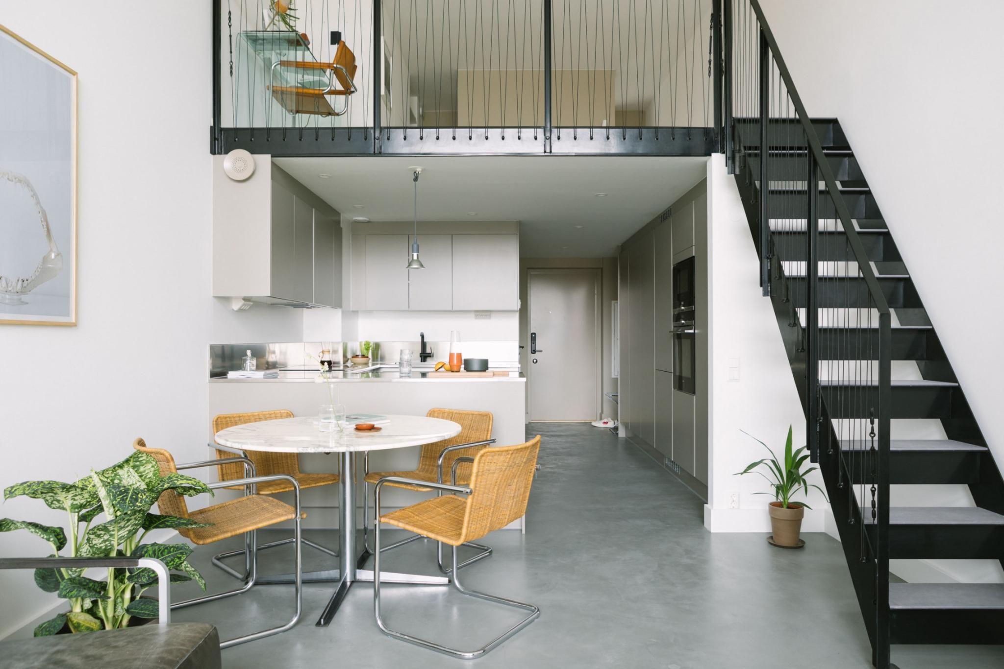 Un Appartement Avec Terrasse Au Design Minimaliste Et Beton