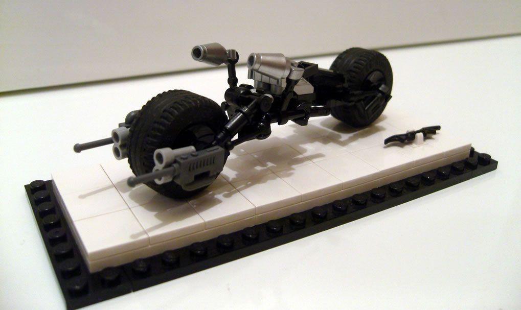 Batpod Par Jared Chan Brickheroes Lego Movies