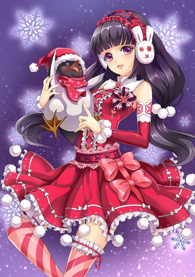 ❄• ~ MERRY CHRISTMAS & HAPPY HOLIDAYS! ~ •❄ anime art ...