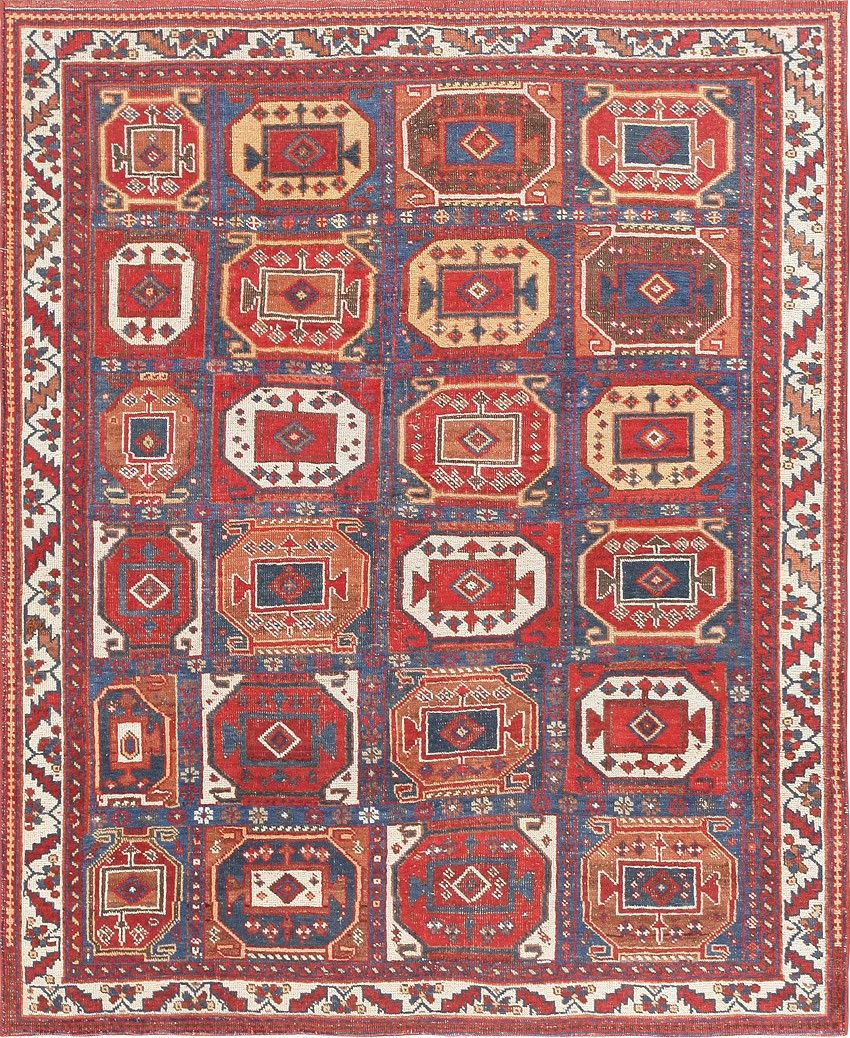 Antique Tribal Persian Afshar Rug 47543 Detail Large View By Nazmiyal